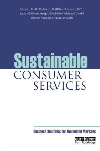 Sustainable Consumer Services: Business Solutions for Household Markets PDF