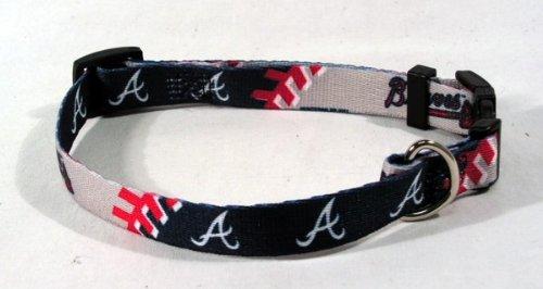 Atlanta Braves Adjustable Dog Collar - 4