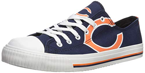 9967eae9e46f06 Chicago Bears Footwear. FOCO NFL Mens Low Top Big Logo Canvas ...