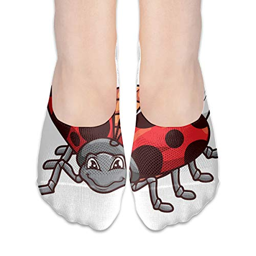 (No Show Socks Ladybird Great Womens Low Cut Sock Casual Invisible Socks For Girl)