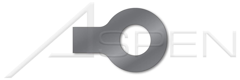 (25 pcs) M27, DIN 93, Metric, Tab Washers, 1 Tab, Steel, Plain