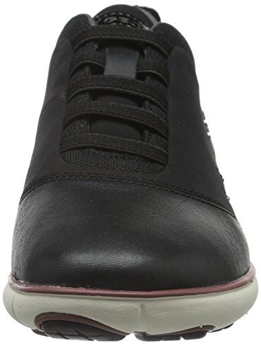 Black Wnebula10 Women 7 Fashion M 37 Sneaker US EU GEOX SfIq1xww