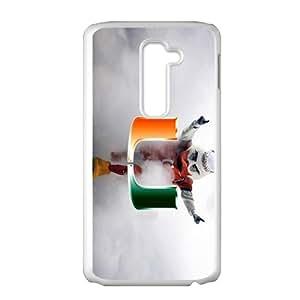 HGKDL miami hurricanes mascot Phone Case for LG G2