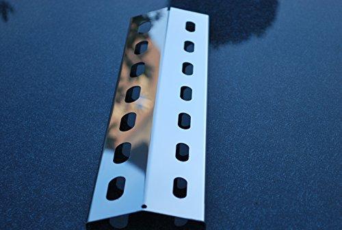 435mm x 150mm Edelstahl Flammenverteiler / Brennerabdeckung / Flammenabdeckung für Gasgrills für ASIN: B007I48TE0 und ASIN: B003E4E4GA (435-150-1)