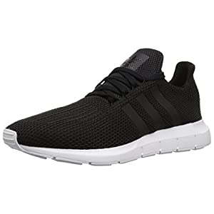 adidas Originals Men's Swift Running Shoe, Black/White, 11 M US