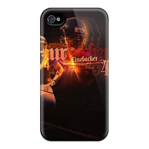 Faddish Phone Chicago Bears Case For Iphone 4/4s / Perfect Case Cover