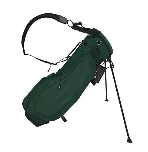 (Titleist Ultra Lightweight Stand Bag - Hunter Green - Custom Panel)