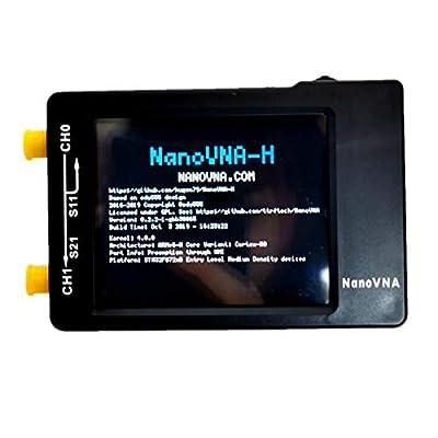 NanoVNA-H HF VHF UHF Vector Network Analyzer Antenna Analyzer 50kHz-900MHz