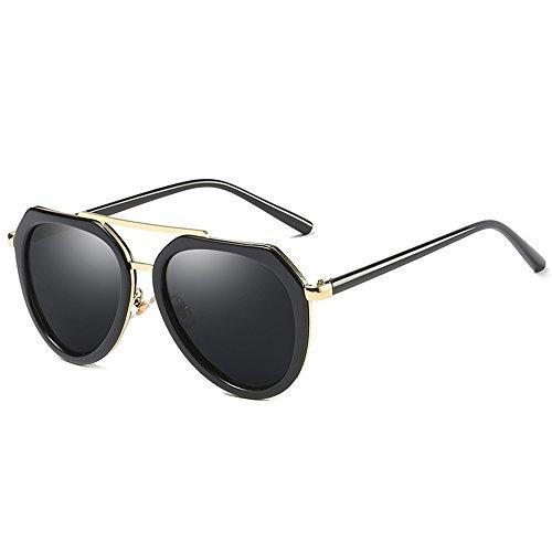 moda viaje 03 luz la de Gafas al de retra grandes aire libre la de sol polarizada 02 ZHIRONG gafas de Color vC6Fw