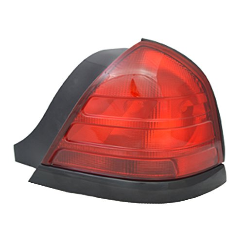 NEW RIGHT PASSENGER SIDE TAIL LIGHT FITS FORD CROWN VICTORIA BASE 2000-2008 FO2801160 8W7Z13404A 8W7Z-13404-AC