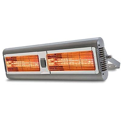 Solaria Electric Infrared Heater - Commercial-Grade, Indoor/Outdoor, 1500 Watt Heater- 120 Volts