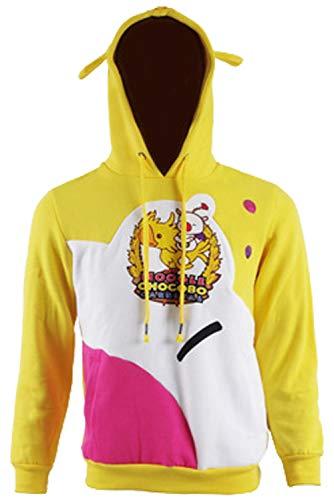 Hibuyer FFXV Noctis Moogle Chocobo Adult Pullover Hoodie Sweatshirt Halloween Cospaly Costume (Large, -