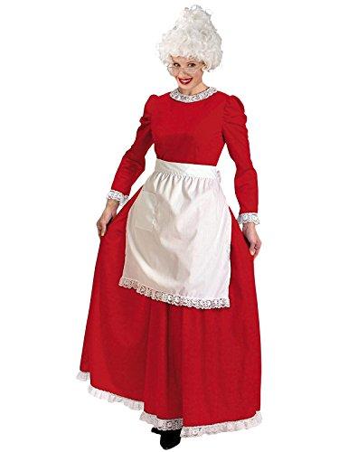 Mrs Santa Costume Xxl (Christmas Charmer - Plus Size 1X/2X - Dress Size 20-24)