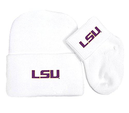 Amazon.com: LSU Tigers bebé recién nacido Pac y calcetines ...