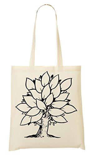 Religiosa Di Albero Vita Borsa Bag Shopping P1dqvnZH