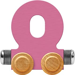 product image for Maple Landmark NameTrain Pastel Letter Car O - Made in USA (Pink)