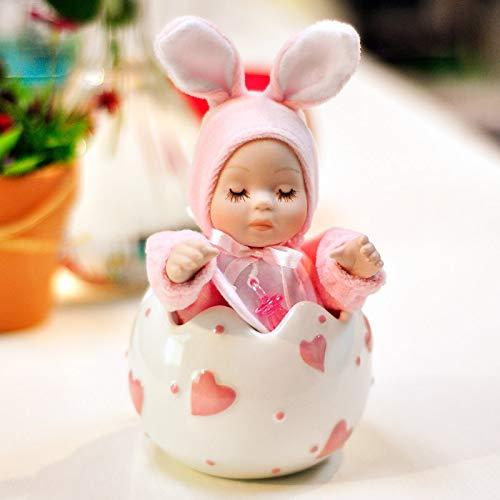 HuaQingPiJu-JP クリスマスツリーローテーションミュージカルボックスクリスマス子供ギフト (色 : Pink) B07L9PDWFZ Pink