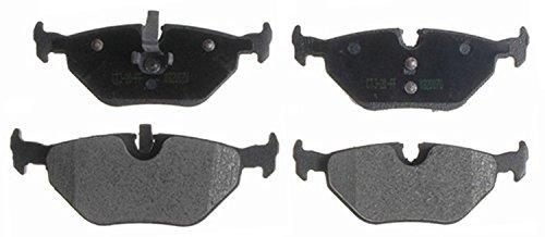 ACDelco 14D763M Advantage Semi-Metallic Rear Disc Brake Pad (Bmw 318ti Brake Disc)
