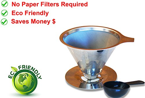 Coffenation Dripper Reusabel Paperless Stainless product image