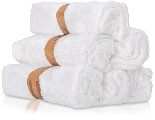 """Premium Baby Bath Washcloths (Pack of 6, 10"""" x 10"""") 100% Super Soft Towels by Wilde Tyke. Burp Cloths, Reusable Wipes, Excellent Baby Gift Set for Baby Shower & Registry."""
