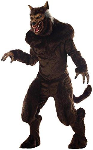 Morris Mens Deluxe Werewolf Costume Standard
