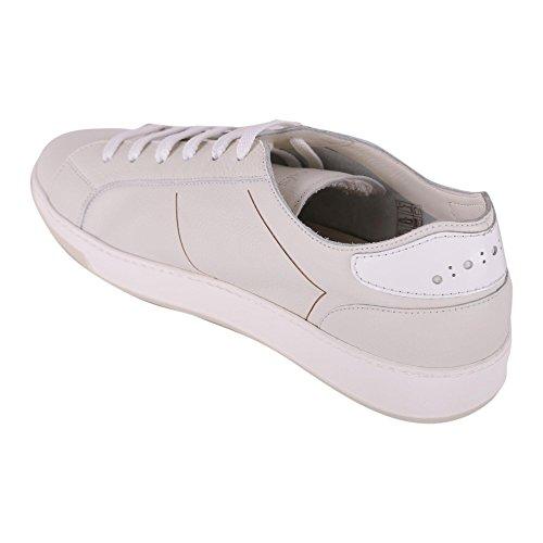 DOUCALS Sneakers Uomo DU1909SEATUZ056WW14 Pelle Bianco