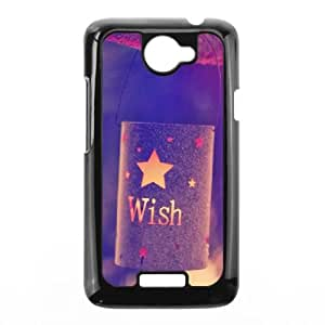 HTC One X Cell Phone Case Black quotes parallax wish lights JNR2057866