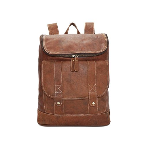 leather going Shopping outdoor School laptop Bag Bag Shoulder Bulk Shoutibao Double retro work Comfort To IgTPqnw