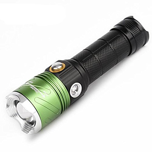 PROBE SHINY 5000 Lumens Super Bright Tactical Flashlight LED Waterproof IP4 for Camping,Hiking, Trekking, Hunting, Fishing Flashlight Kit