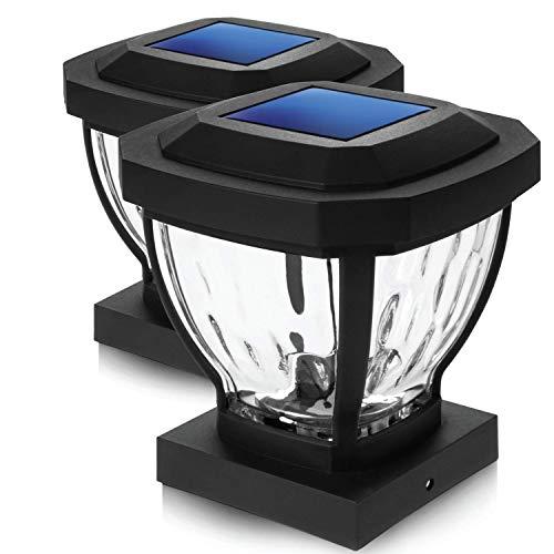 Outdoor Solar Lights 4X4 Post in US - 5