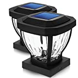 Home Zone Security Solar Post Cap Lights