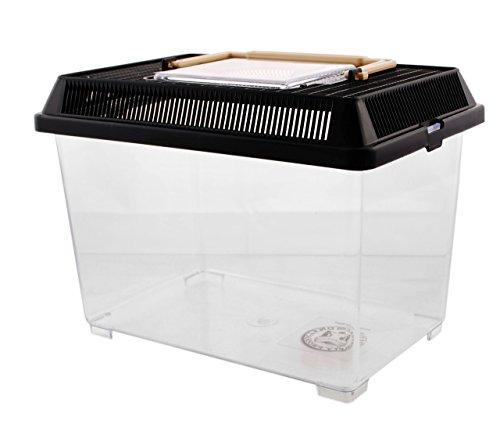 PET PLAZA Kunststoffbox - Faunarium Small - 23x15x16cm - ca. 3,3L Inhalts Volumen