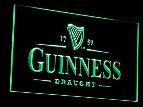 Guinness Vintages Beer Bar LED Neon Sign Man Cave A002-G ()