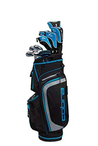 Cobra 2018 XL Complete Set Black-Capri Blue (Women's, Right Hand, Graphite, Ladies Flex) -  Cobra-Puma Golf, BX CXL BK BU GPH WNS CS13 BG RH