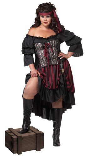 Calif (Plus Size Halloween Costumes Pirate)