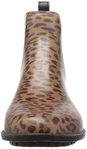 Joules Womens Rockingham Rain Shoe Leopard Spot