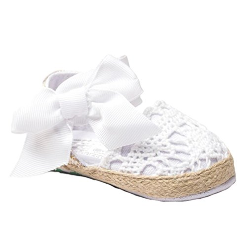 Infant Baby Girls Toddler Net Yarn Lace Bow Shoes Cute Sandals