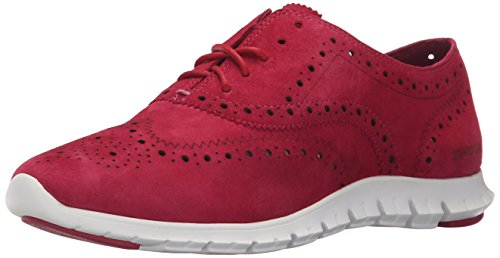 Suede Womens Oxford - Cole Haan Women's Zerogrand Wing Oxford, Amoroso Suede, 10.5 B US