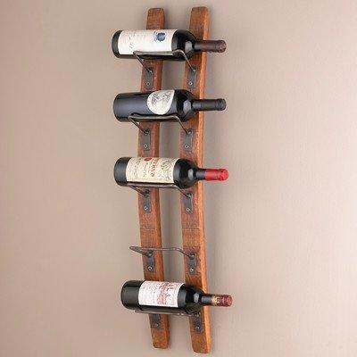 Amazoncom Blackburn 5 Bottle Wall Mounted Wine Rack 34 H X 875