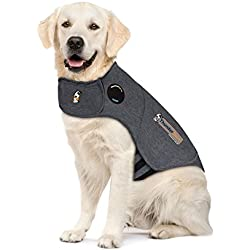 Thundershirt Dog Anxiety Calming Wrap (X Large (65-110 lbs), Heather Grey)