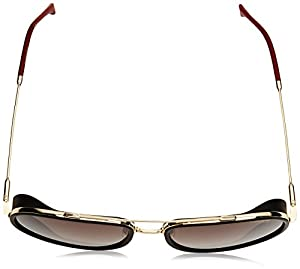 Carrera Men's 166/s Aviator Sunglasses, Gold Red, 59 mm