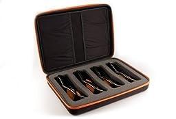 3ACTIVE Premium Four-Pack Storage Case