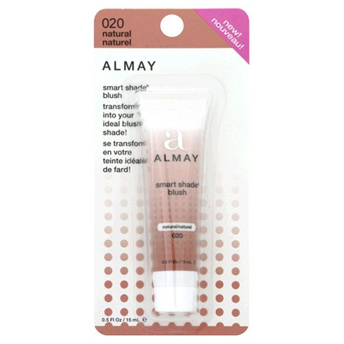 Almay Smart Shade Blush, Natural 020, 0.5 Ounce Tube