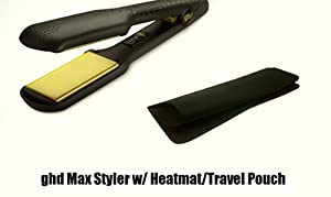 ghd Hair Straighteners Wide Plate / vGold Max Includes Heatmat/Travel...