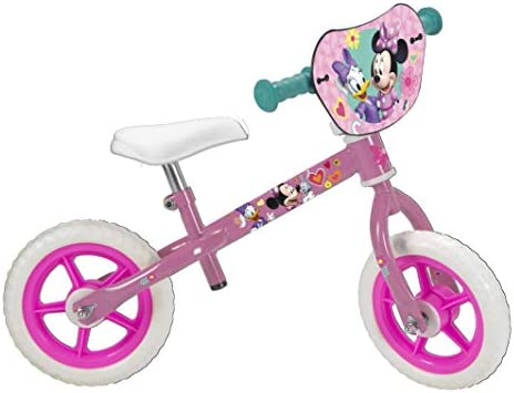 TOIMSA – Bicicleta sin Pedales para niños bajo Licencia Minnie ...