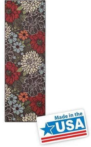 """Better Homes and Gardens Sorbet Faux Hook Floral Runner Rug, Multi-Color, 1'11"""" x 6' from Better Homes & Gardens"""