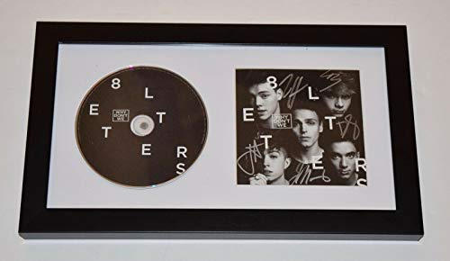WHY DON'T WE Signed Autographed 8 LETTERS Framed CD Booklet Display COA from Unknown