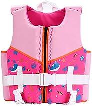 Kids Swim Vest Toddler Life Jacket Kids Life Jackets Swimming Vest for Kids - Boys Girls Floation Swimsuit Buo