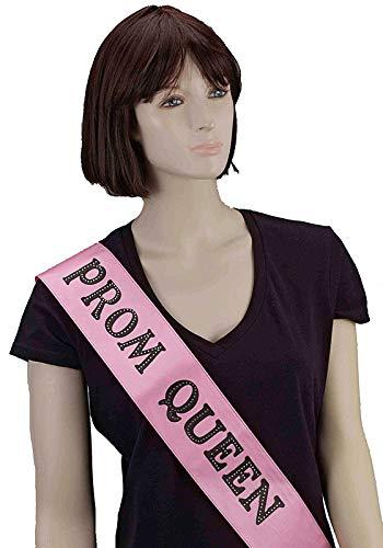 Forum Novelties This Piece Prom Queen Sash, Pink -