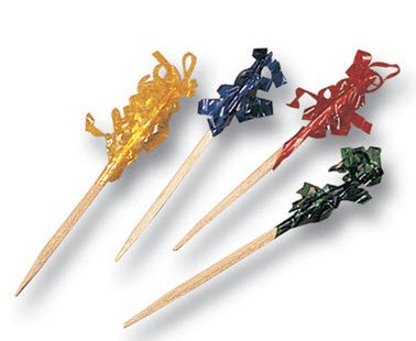 Frilled Toothpicks for Parties or Events [750ct]